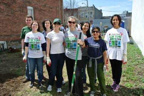NYCares day 2014
