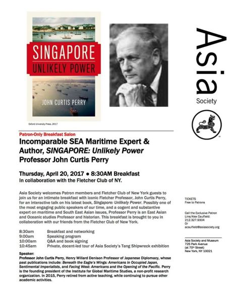 Perry Asia Society Event